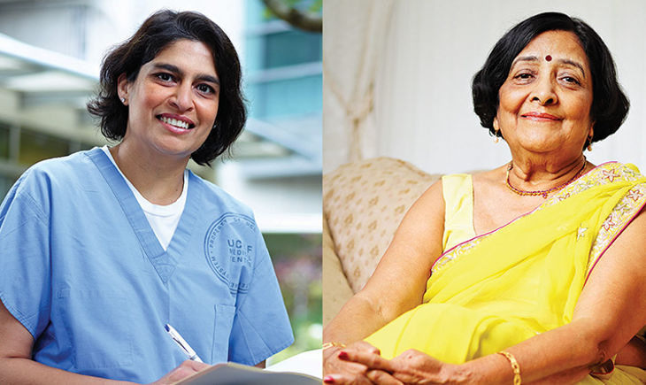 Lata Mohan and Madhulika Varma